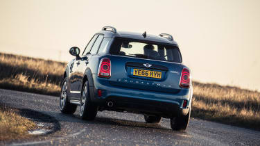 Handling remains as tidy as ever, and the Countryman is one of the best driver's SUVs