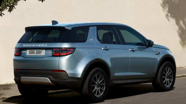 Land Rover Discovery Sport SUV tailgate
