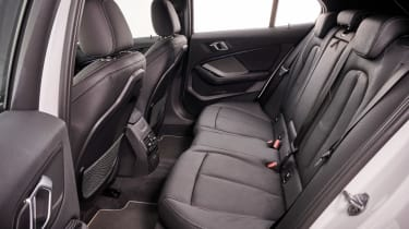 BMW 1 Series hatchback back seats