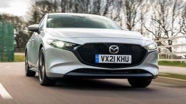 Mazda3 hatchback front tracking