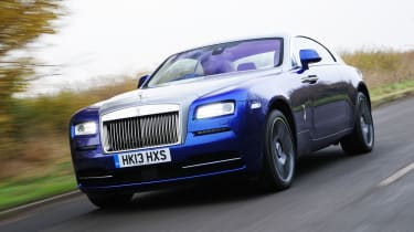 The Rolls-Royce Wraith coupe is the most exciting model in the brand's line-up