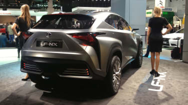 Lexus LF-NX concept rear static