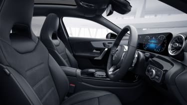 2020 Mercedes A-Class Exclusive Edition and Exclusive Edition Plus - interior side view static