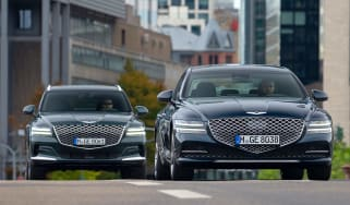 Genesis G80 saloon and GV80 SUV