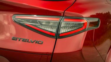 Alfa Romeo Stelvio Quadrifoglio SUV - rear taillight