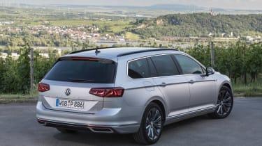 Volkswagen Passat Estate rear 3/4 static