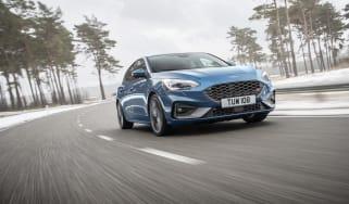 2019 Ford Focus ST - quarter driving