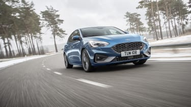 2019 Ford Focus ST - quarter driving