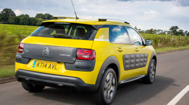 Its most striking feature are 'Airbumps', the motoring equivalent of protective bubble wrap