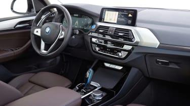 BMW iX3 SUV dashboard