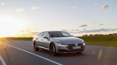 The Arteon comes with an impressive choice of engines, all delivering plenty of power.