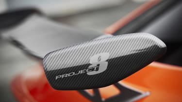 The Project 8 comes before a less-expensive Jaguar XE R...