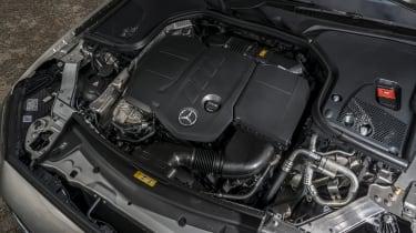 Mercedes E-Class saloon - engine bay
