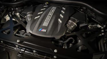 BMW X5 M SUV engine cover