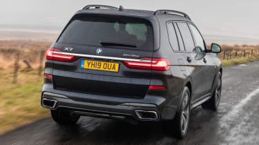 BMW X7 SUV rear tracking