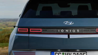 Hyundai Ioniq 5 drive - rear lights
