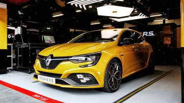 Renault Megane R.S. Trophy front