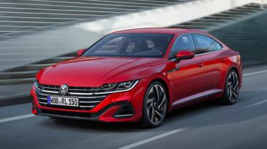 2020 Volkswagen Arteon hatchback - front 3/4 view
