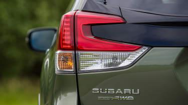 Subaru Forester SUV rear lights