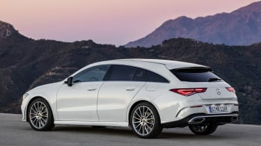 2019 Mercedes CLA Shooting Brake - rear