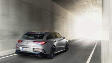 2019 Mercedes-AMG CLA 45 S Shooting Brake - dynamic 3/4