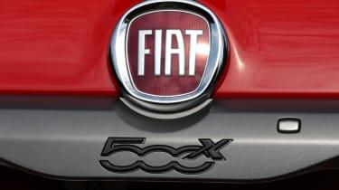Fiat 500X Sport badges