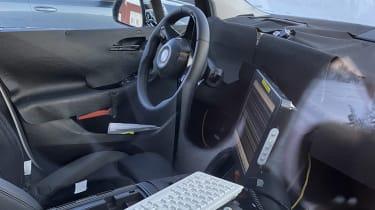 BMW 2 Series Active Tourer - camouflaged interior