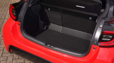 Toyota Yaris hatchback boot