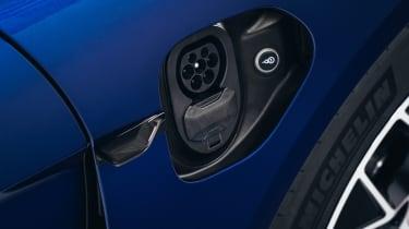 2020 Porsche Taycan - charging port open