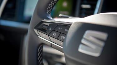 SEAT Ateca SUV steering wheel