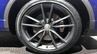 Volkswagen T-Roc R Geneva wheel