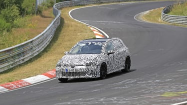 Volkswagen Golf GTI preproduction model