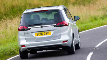 Affordable running costs thanks to efficient diesel engines are among the Zafira's biggest strengths