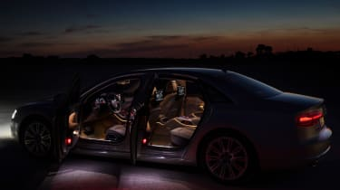 Audi A8 2014 interior side profile