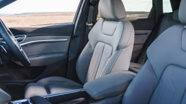 Audi e-tron SUV front seats