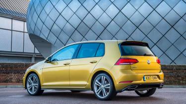 Volkswagen Golf hatchback rear 3/4 static
