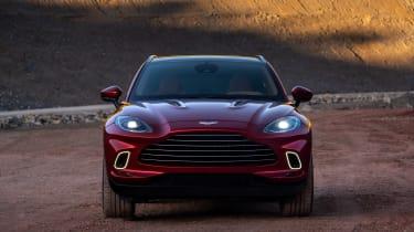 Aston Martin DBX - front view