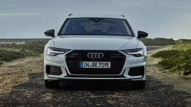 Audi A6 Avant plug-in hybrid front end