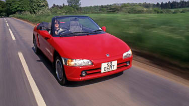 Honda Beat - front 3/4 view