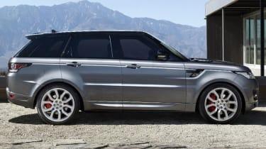 Range Rover Sport 2013 side