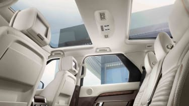 Unless you go for a top-spec HSE Luxury, you'll have to pay extra for a sunroof like this one