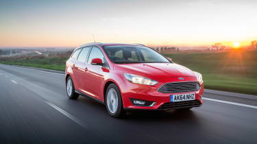 Every Focus Estate costs £140 per year in road tax, while the 1.5-litre diesel has a 19% BiK for business drivers