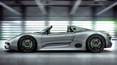 The 918 Spyder embodies the latest hybrid technology in the pursuit of ultimate driving prowess, not economy.