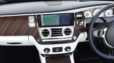 Optional features include a television tuner, 16-speaker stereo system, a head-up display and night vision technology