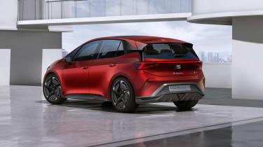 SEAT el-Born rear view - static