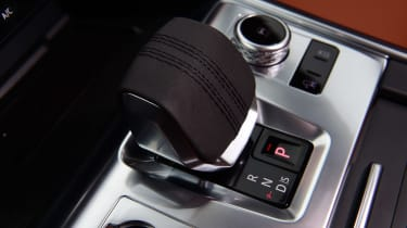Jaguar XF saloon gear selector