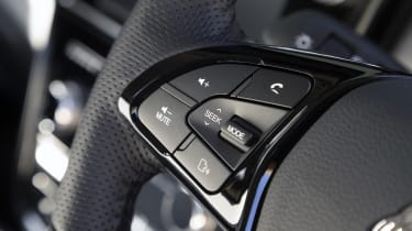 SsangYong Tivoli steering wheel buttons