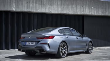 BMW 8 Series Gran Coupe - rear 3/4 static
