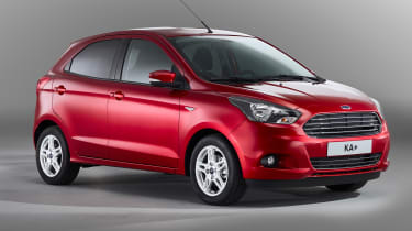 The entry-level Studio model also does without alloy wheels, so most buyers are expected to make the upgrade to Zetec