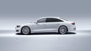 Audi PHEV A8 Side